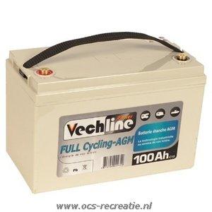 AGM accu van Vechline 80ah gew.26kg. Alleen afhalen!!!